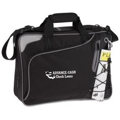 This airport-friendly promotional laptop bag is the perfect business gift!