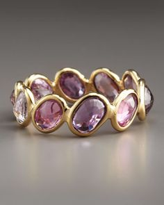Sapphire Ombre Ring, Pink by Paolo Costagli at Bergdorf Goodman.
