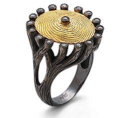 Pırlanta 18 Ayar Altın Gümüş Parmak İzi Yüzük, parmak izi koleksiyonu, hediye, özel tasarım yüzük