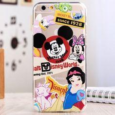 Силиконовый чехол Catoon Mickey Mouse Club для iPhone 6&6s