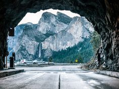 tunnel view. yosemite national park.