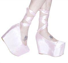 Wildfox x Jeffrey Campbell Ballet Flatform Platforms | Dolls Kill