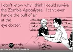 Chad Shimazaki - Google+ Eye Doctor, Someecards, Apocalypse, Jokes, Signs, Glasses, Google, Chistes, Eyeglasses