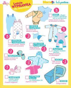 Letnia wyprawka noworodka