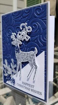 Handmade Christmas Card Kit Set Of Stampin' Up Dashing Deer All For Classic Christmas Happy Christmas Wishes, Christmas Cards 2018, Homemade Christmas Cards, Christmas Deer, Christmas Greeting Cards, Greeting Cards Handmade, Homemade Cards, Holiday Cards, Christmas Crafts