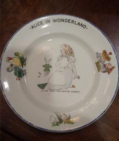 Hammersley & Co. - Alice in Wonderland Plate by 3LittleWitches on Etsy