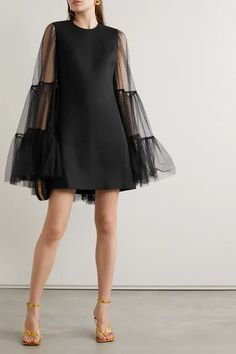 Look Fashion, High Fashion, Cute Dresses, Short Dresses, Short Tulle Dress, Fashion Design Inspiration, Looks Style, Chic Outfits, Girly Outfits