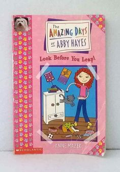 The Amazing Days of Abby Hayes by Anne Mazer illustrated novel used paperback Chapter Books, Novels, Amazing, Day, Illustration, Illustrations, Romance Novels, Romans