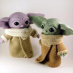 Baby Yoda Inspired Amigurumi Pattern - Crochet - crochet etc - Baby Yoda Inspired Amigurumi Pattern – Crochet Baby Yoda Inspired Amigurumi Pattern – Crochet Crochet Patterns Amigurumi, Amigurumi Doll, Crochet Dolls, Crochet Stitches, Knitting Patterns, Knitting Ideas, Knitting Basics, Crochet Crafts, Free Crochet