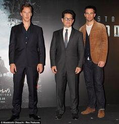 Trekkie Fever hits Japan along with Benedict Cumberbatch and Chris Pine  http://britsunited.blogspot.com/2012/12/trekkie-fever-sweeps-japan-as-stars.html