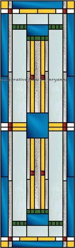 Geometric 2 Decorative Window Film