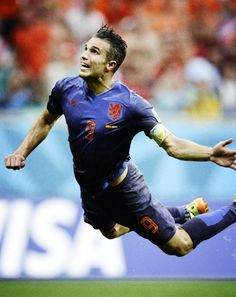 The Flying Dutchman - Robin van Persie