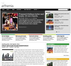 Arthemia Premium is a magazine-styled theme that unleashes the true power of WordPress, creating a simple-yet-powerful content management system with an automatic thumbnail generation feature. An elegant blend of a blog and a magazine.