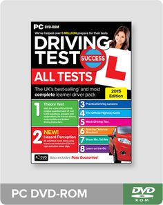 Driving Test Success All Tests PC DVD-ROM (Theory Test, Hazard Perception Test, Highway Code and Practical Driving Test)