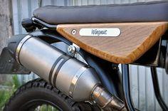 Maarten's Wingnut on the Bike Shed Cafe Racer Honda, Cafe Racer Build, Cafe Racer Bikes, Cafe Racer Motorcycle, Dominator Scrambler, Cx500 Cafe, Honda Cb, Custom Motorcycles, Custom Bikes