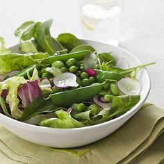 Triple Pea Salad With Creamy Tarragon Dressing:  This veggie-rich dish contains a hearty dose of vitamin C in every crunchy bite. And the light yet creamy dressing kicks the flavor up a notch. Get the recipe | Health.com