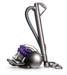 Dyson DC47 Animal Canister Vacuum Review: The smallest of the canister vacuums, this one seems to have no trouble with pet hair.