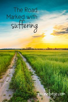 If you are travelling the road marked with suffering, remember this one thing. Christian Devotions, Christian Faith, Christian Encouragement, Psalm 23, Holy Bible Book, Jesus Loves Us, Feel Like Giving Up, Bible Prayers, Beautiful Nature Wallpaper