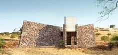 House in Barren land in India by mayaPRAXIS