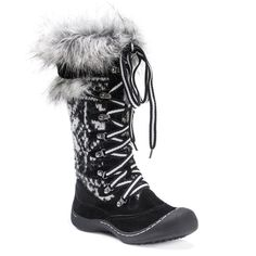 These MUK LUKS Gwen boots provide a soft warm barrier between your feet and cold. Snow Boots, Ugg Boots, Calf Boots, Fuzzy Boots, Rain Shoes, Winter Fashion Boots, Women's Fashion, Fashion Quotes, Cold Weather Boots
