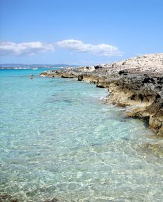 illetas the paradise in the med, Formentera ! Ibiza Travel, Spain Travel, Formentera Spain, Ibiza Spain, Places Around The World, Oh The Places You'll Go, Exotic Places, Spain And Portugal, Island Life