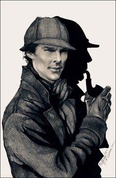 """New Sherlock Holmes"" by ~allegator on deviantART"