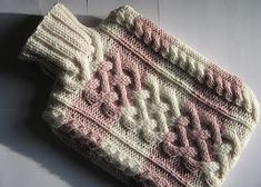 Kismet's Companion: Free Pattern: Cabled Hot Water Bottle Cover