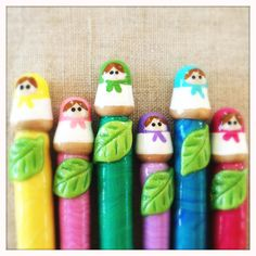Matryoshka Doll Crochet Hook - I really need to learn to crochet.