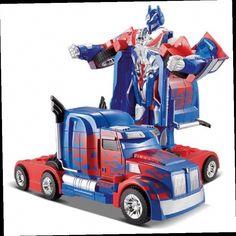 42.49$  Watch now - http://ali962.worldwells.pw/go.php?t=32733960299 - Free Shipping Luxury Sportscar Models Deformation Robot Transformation Remote Control RC Car Toys Kids Gift TT669