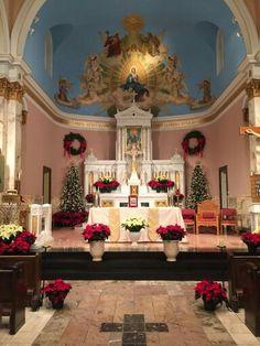 Holy Rosary church, Jersey City, NJ at Christmas time, 2014. 2
