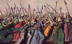 opstand tegen hendrik XVI in Frankrijk was het niet eerlijk verdeelt, namelijk: stand 1 en 2 hoefden geen belasting te betalen maar stand 3 wel zie de standen bij pin... op een moment pikte stand 3 het niet meer en kwam in opstand. Lodewijk XVI werk onthoofd samen met adel