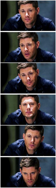 Look how quickly his expressions change 9x22 Stairway To Heaven