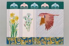 Kintaro Ishikawa, a Bird with flowers  on ArtStack #kintaro-ishikawa #art