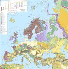 carte géologie europe- Recherche Google