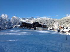 Winteransicht im Januar 2014 Hotel Austria, Travel Hotel, Hotels, Mount Everest, Mountains, Nature, Outdoor, Star, Environment