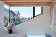 Again, not both sides of the window would be allowed. But nice triangle. Kennington House by Studio Architect