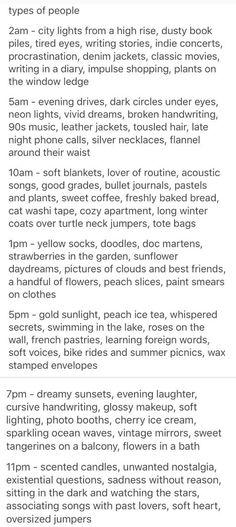 I don't fit any of these x I'm just .... a writer who fangirls a lot.