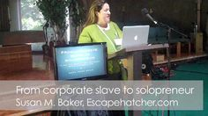 From corporate slave to entrepreneur with Susan Baker