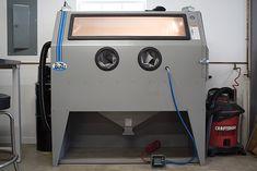 970 Blast Cabinet -FTP