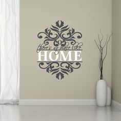 There's No Place Like Home Entryway Wall Decals and Stickers
