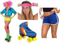 Create an 80s Roller Disco/Skater Girl Costume at Simplyeighties.com