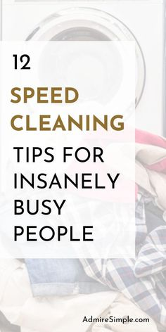 Cleaning hacks and tips. Want to spend less time cleaning without sacrificing cleanliness? Learn how to keep a house clean and neat with these simple tasks.