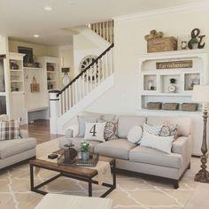 30 Cozy Rustic Farmhouse Living Room Decor Ideas