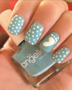 How sweet! #manicure #nailart
