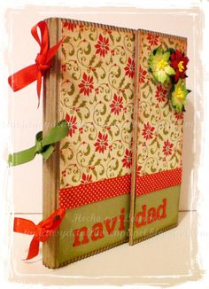 Cartes et Detallitos papier: Tutoriel: Christmas Album