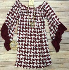 Houndstooth Tunic from privityboutique