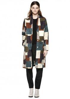 Rule Coat - Mixed Colour