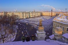 St Petersburg, the Ermitage Winter Palace