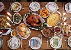 Thanksgiving at Bon Appétit