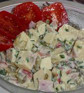 Käsesalat - einfach & lecker